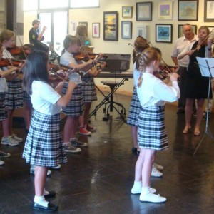 Ashley Hall Strings Ensemble