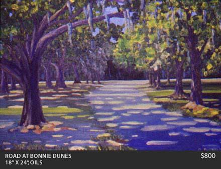Road at Bonnie Junes