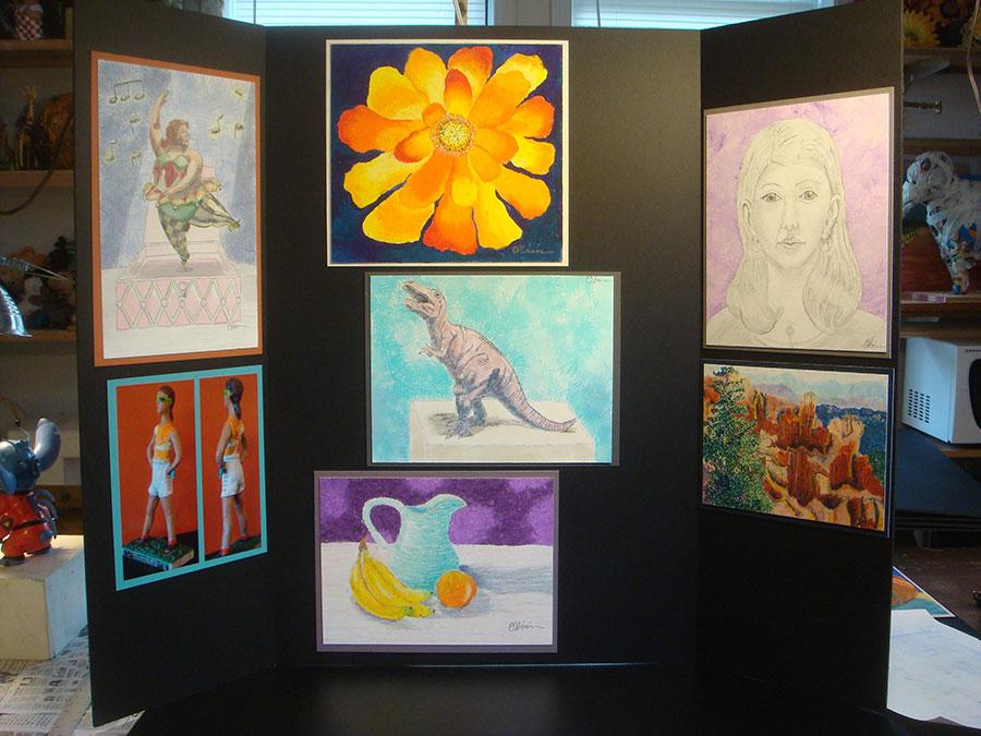 art school portfolio preparation for SOA Cario Rawlings