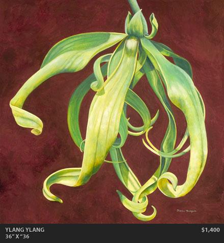 Ylang Ylang Painting