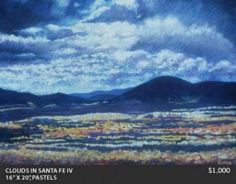 Clouds in Santa Fe IV