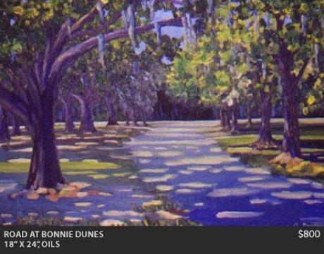 Road at Bonnie Dunes