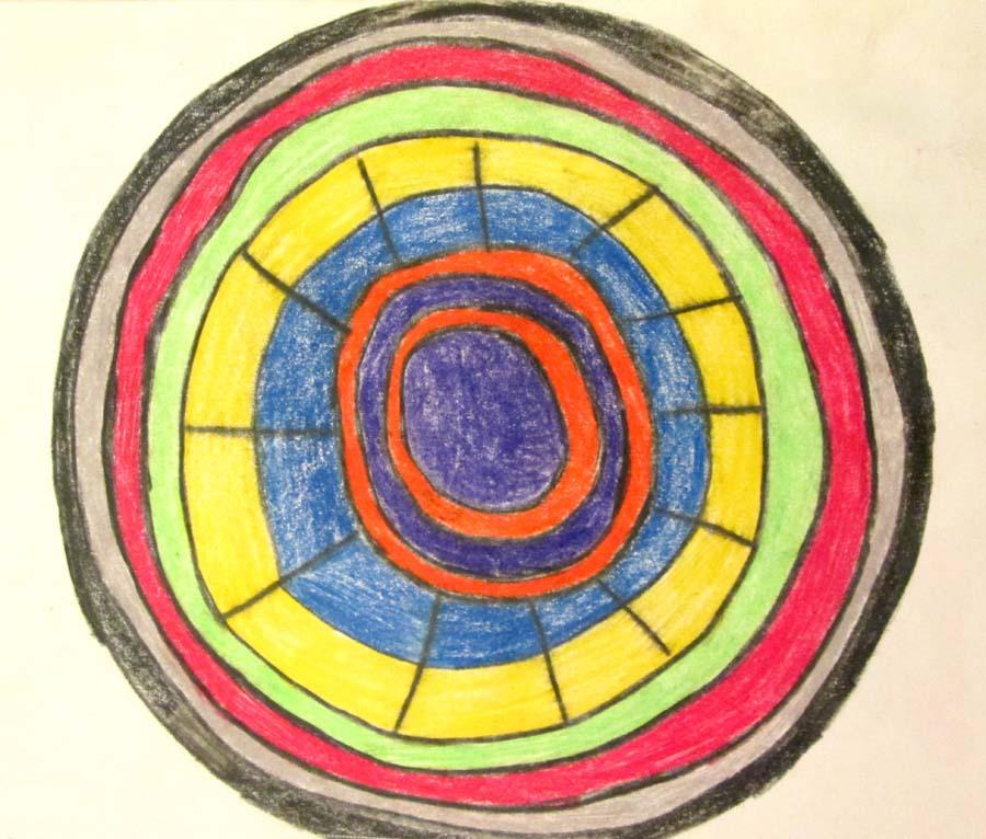 Mandala sacred healing circle