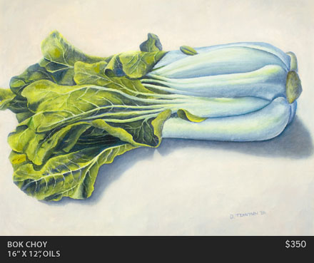 Bok Choy Painting