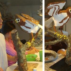 student sculpture art class charleston sc