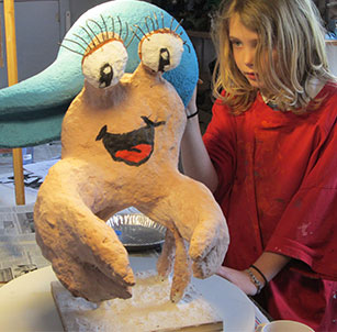 kid art sculpture classses