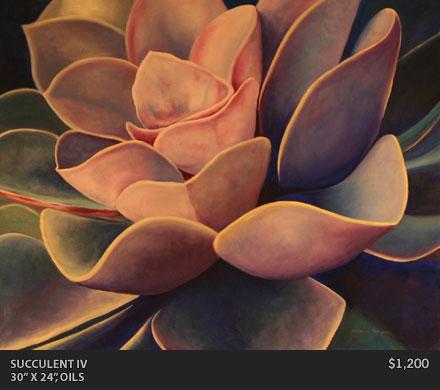 Succulent IV Painting