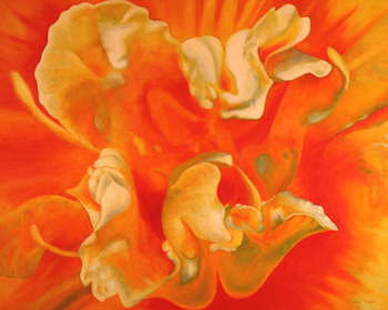 Dianne Tennyson is exhibiting her botanical imagery.