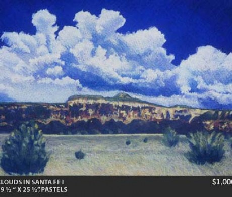 Clouds in Santa Fe I