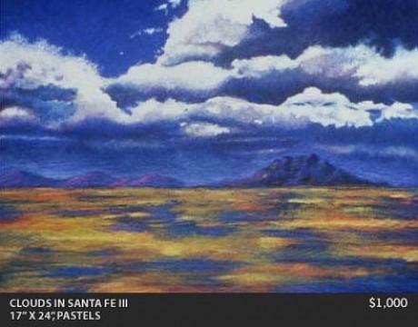 Clouds in Santa Fe III