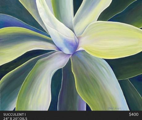 Succulent 1 Painting